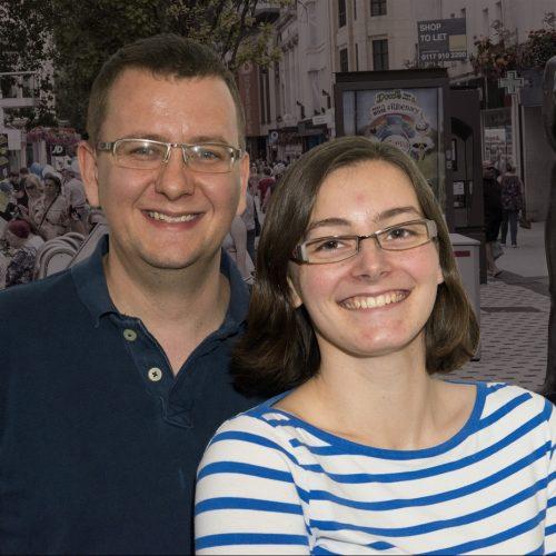 Steve and Becky Harris
