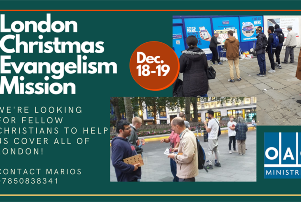 London Christmas Evangelism Mission