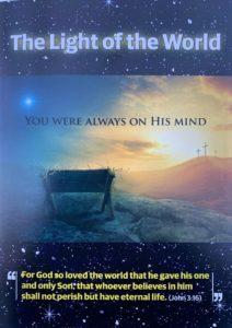 Light of the World leaflets